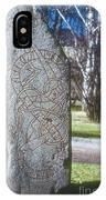 Swedish Runestone IPhone Case