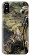 Swedish Vallhund  - Vastgotaspets Art Canvas Print IPhone Case