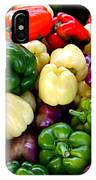 Sweet Bell Peppers IPhone Case