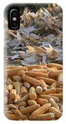 Sweet Corn And Husks IPhone Case