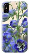 Sweet Delphinium IPhone Case