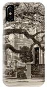 Sweet Home New Orleans 2 Sepia IPhone Case