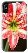 Sweet Lillian Amaryllis IPhone Case