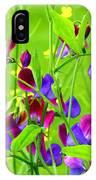 Sweet Peas IPhone Case