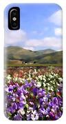 Sweet Peas Galore IPhone Case