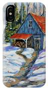 Sweet Sugar Shack By Prankearts IPhone Case