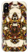 Sweet Symmetry - Kiss IPhone Case