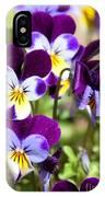 Sweet Viola IPhone Case