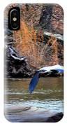 Sweetwater Heron In Flight IPhone Case