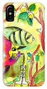 Swimming In A Sea Of Limoncello IPhone Case