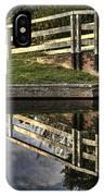 Swing Bridge Reflected IPhone Case
