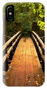 Swinging Bridge IPhone Case