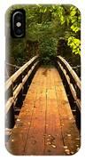 Swinging Bridge IPhone Case