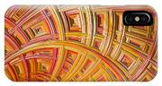 Swirling Rectangles IPhone X Case