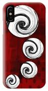 Swirling Round IPhone Case