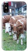 Swiss Cows IPhone Case