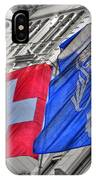Swiss Flags  IPhone Case