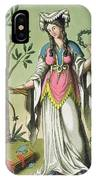 Sybil Of Delphi, No. 15 From Antique IPhone Case