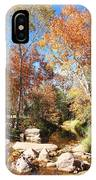 Sycamore And Cottonwood Trees Along The East Verde River IPhone Case