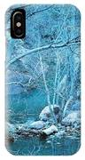 Sycamores And River IPhone Case