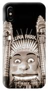 Sydney Luna Park IPhone Case