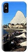 Sydney Opera House Bar IPhone Case