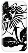 Symbol Passion Flower IPhone Case