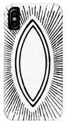 Symbol Vesica Piscis IPhone Case