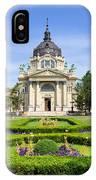 Szechenyi Baths In Budapest IPhone Case