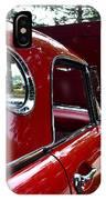 Vintage Car - Opera Window T-bird - Luther Fine Art IPhone Case
