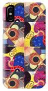 T J O D Tile Variations 14 IPhone Case