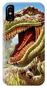 T-rex And Dinosaurs IPhone Case