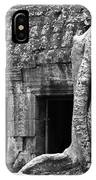 Ta Prohm Roots And Stone 02 IPhone Case