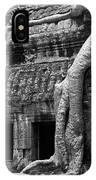 Ta Prohm Roots And Stone 05 IPhone Case