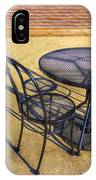 Table For Two IPhone Case