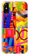 Painting Collage I IPhone Case