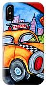 Taco Taxi IPhone Case