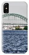 Tacony Bridge IPhone Case