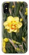 Tahiti Double Daffodil IPhone Case
