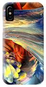 Tailed Beast Abstract IPhone Case