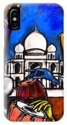 Taj Mahal Dancers IPhone Case