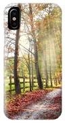 Take The Back Roads IPhone Case