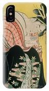 Takigawa From The Tea House Ogi IPhone Case