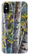 Tall Aspens IPhone Case