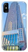 Tall Highrise Buildings In Uptown Charlotte Near Blumental Perfo IPhone Case