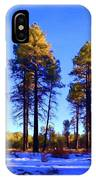 Tall Ponderosa Pine IPhone Case