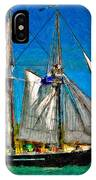 Tall Ship Paint  IPhone Case