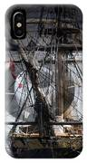 Tall Ship With Compass 2013 IPhone Case