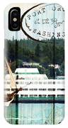 Tall Ships On The Sound IPhone Case