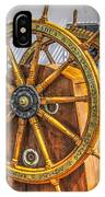 Tall Ships Wheel IPhone Case